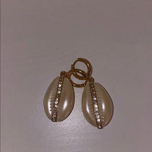 BaubleBar Shell Earrings